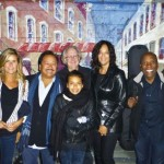 Nathan East & Family, Manager Sonny Abelardo & wife, and Sound Master Ken Freeman on the streets of Seattle