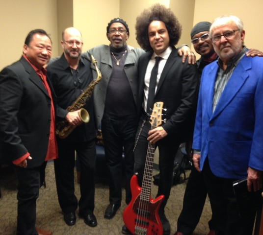 Sonny Abelardo, Aaron Heick, Perry Hughes, Carlitos Del Puerto, Havey Mason, and Bob James