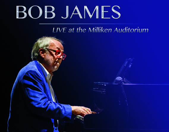 Bob James - Live at the Milliken Auditorium - Album Cover